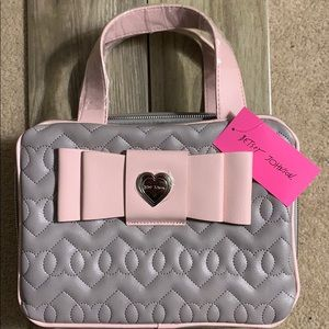 Betsey Johnson makeup case or travel case. NWT.